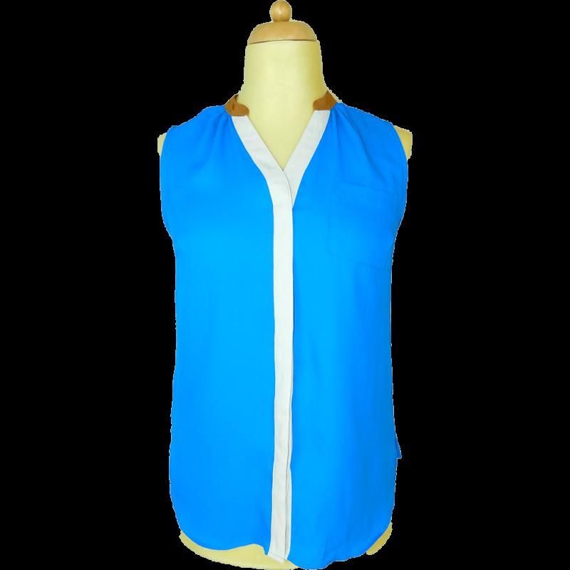 NEXT kék felső (XL/42)