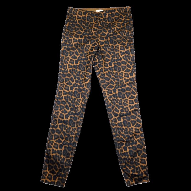 Barna-fekete leopárdmintás jeggings